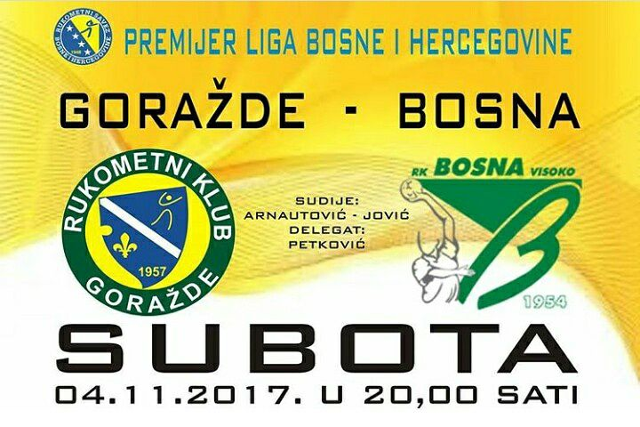 RK Goražde - RK Bosna Centrotrans Visoko