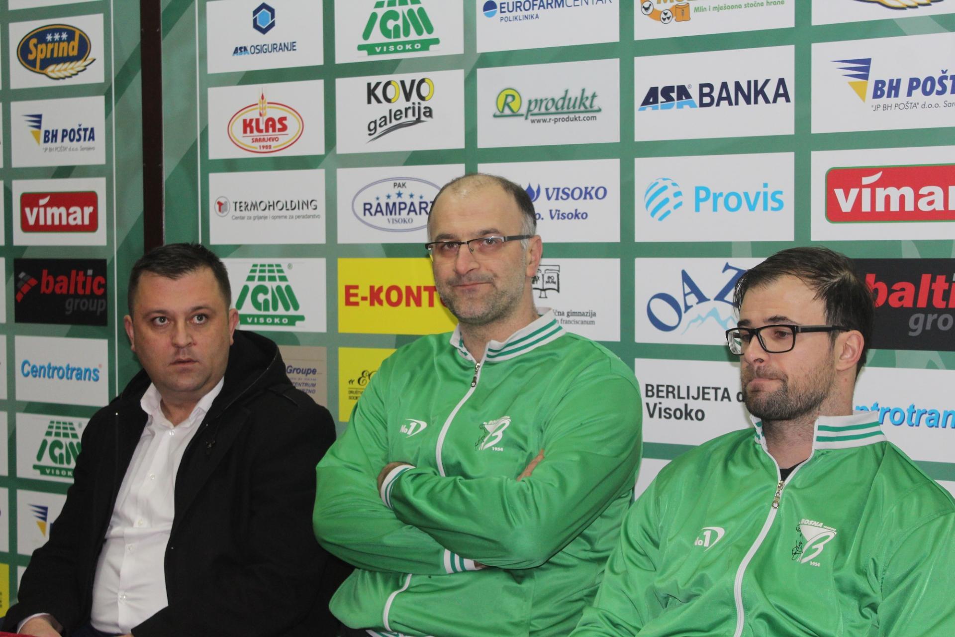 Press konferencija: RK Bosna - RK Izviđač