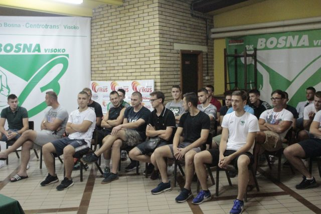 RK Bosna Visoko 2018/19 pripreme